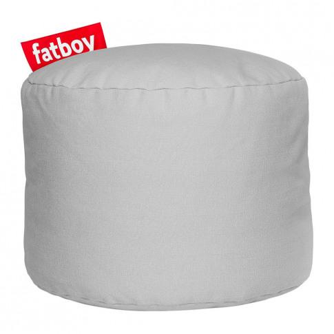 Fatboy - The Point Stonewashed Pouf - Silver Grey
