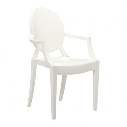 Kartell - Louis Ghost Armchair - Glossy White