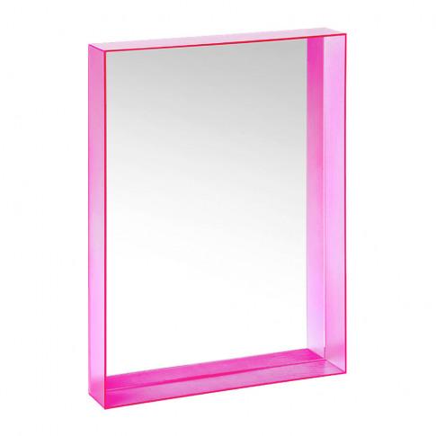 Kartell - Only Me Mirror - Fuchsia - 50x70cm