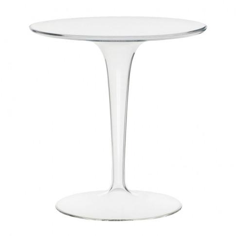 Kartell - Tip Top Side Table - Crystal