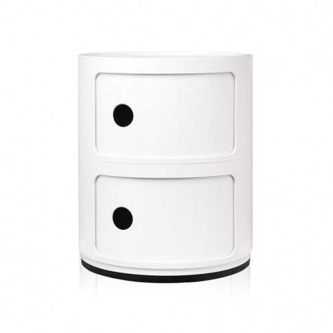 Kartell - Componibili Storage Unit - White - Small