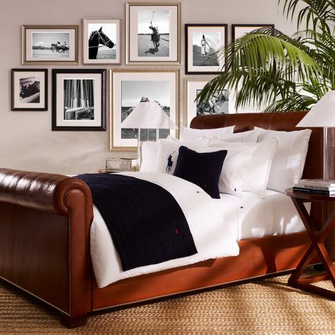 Ralph Lauren Home - Polo Player Duvet Cover - White ...