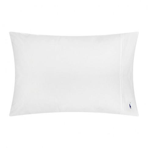 Ralph Lauren Home - Polo Player Pillowcases - White ...