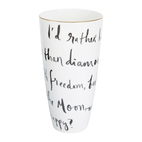 kate spade new york - Daisy Place I'd Rather Be Vase...