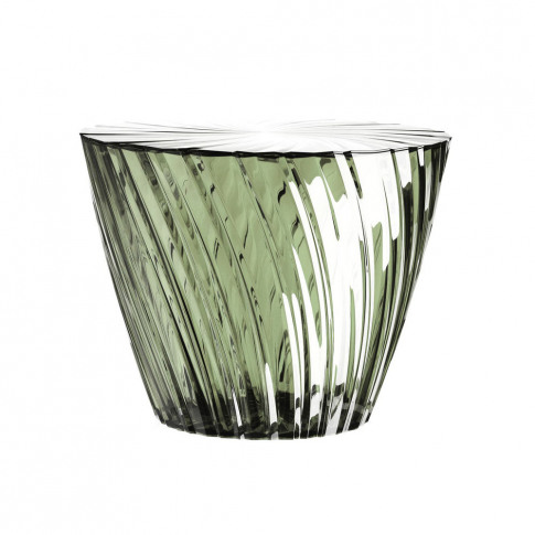 Kartell - Sparkle Stool/Side Table - 35cm - Sage