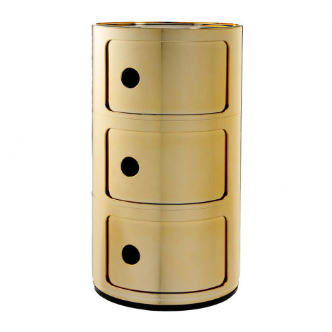Kartell - Componibili Storage Unit - Gold - Large