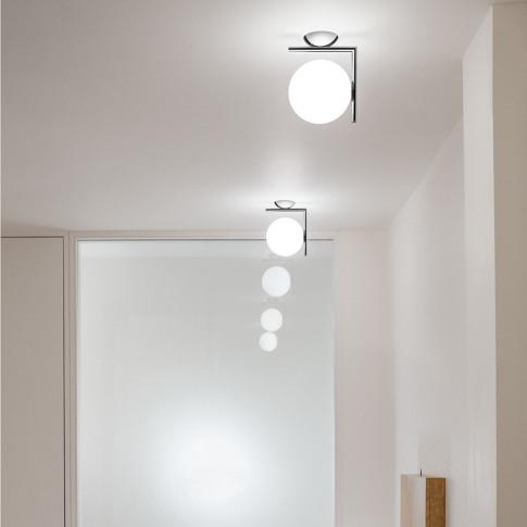 Flos - Ic Wall/Ceiling Light - Chrome - W1