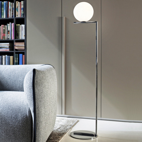 Flos - IC Floor Lamp - Chrome - F1