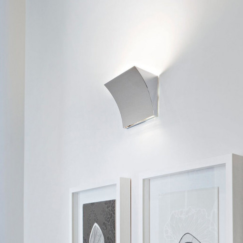 Flos - Pochette Wall Light - Grey - Up/Down