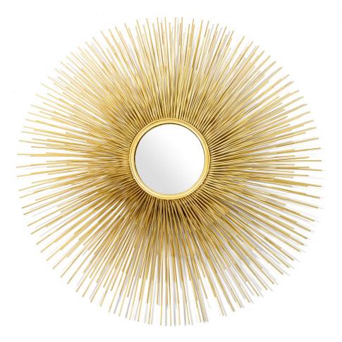 Pols Potten - Round Prickle Mirror - Gold