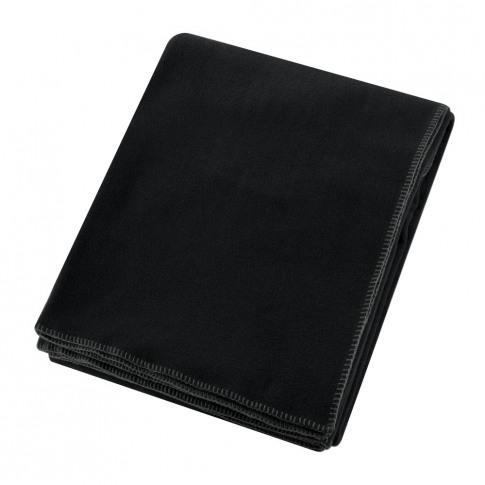 Zoeppritz Since 1828 - Soft Fleece Blanket - Black