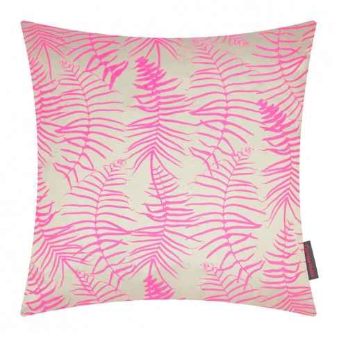 Clarissa Hulse - Feather Fern Cushion - 45x45cm - Pe...