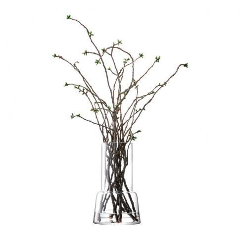 Lsa International - Chimney Vase - Clear - 45 Cm