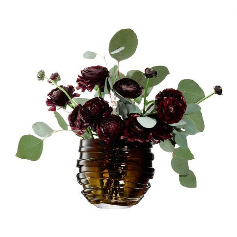 Lsa International - Yarn Vase - Moss Green - 16cm