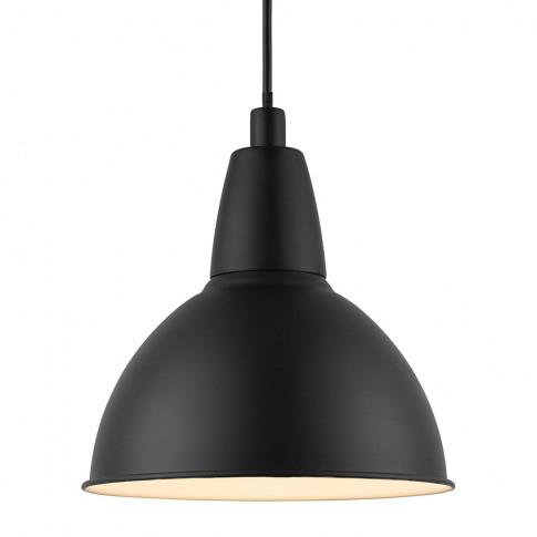 A By Amara - Trude E27 Pendant Light - Black