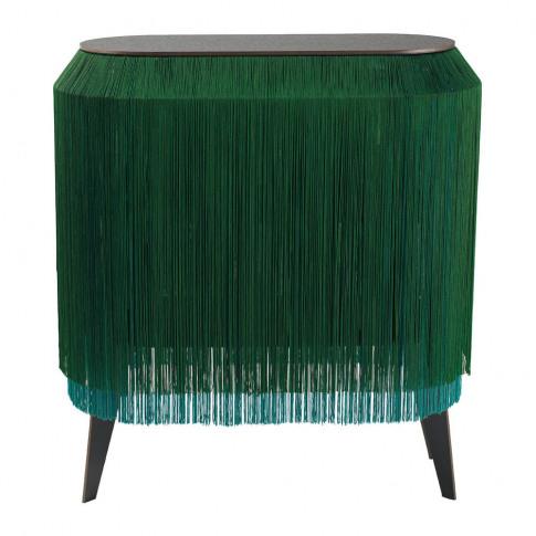 Ibride - Baby Alpaga Side Table - Sparkling Green