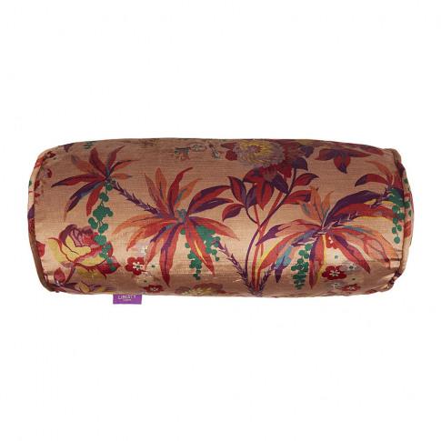 Liberty London - Layla Velvet Bolster Cushion - 45x2...