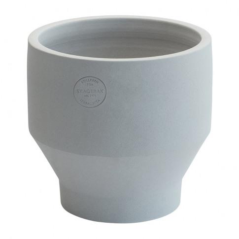 Skagerak - Edge Plant Pot - Light Grey - 18cm