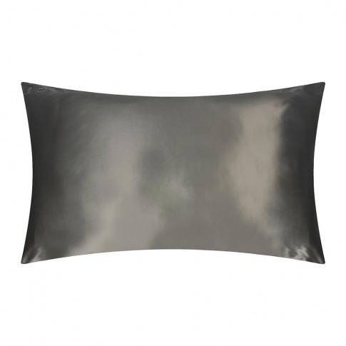 Slip - Pure Silk Pillowcase - Charcoal - 51x91cm