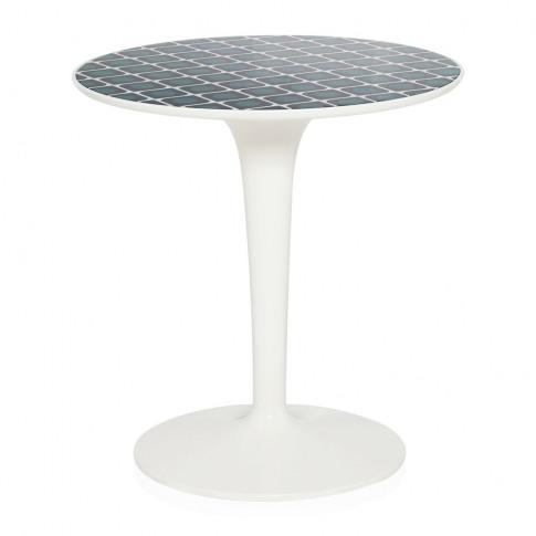Kartell - La Double J Tip Top Side Table - Olive