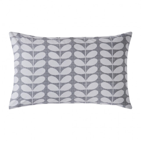 Orla Kiely - Placement Scribble Stem Pillowcase - Se...