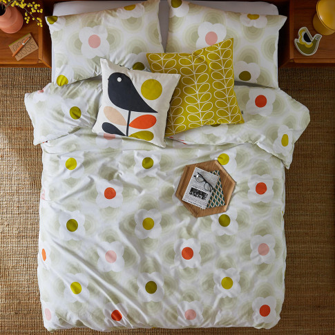 Orla Kiely - Striped Petal Duvet Cover - Multi Spot ...