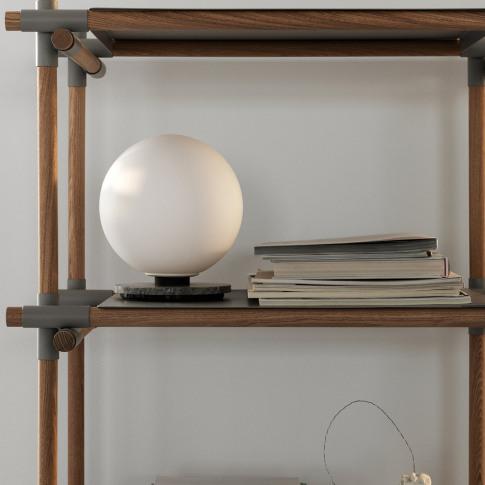 MENU - TR Bulb Table/Wall Lamp - Opal/Grey Marble