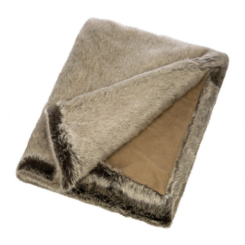Helen Moore - Faux Fur Throw - 180x145cm - Signature...