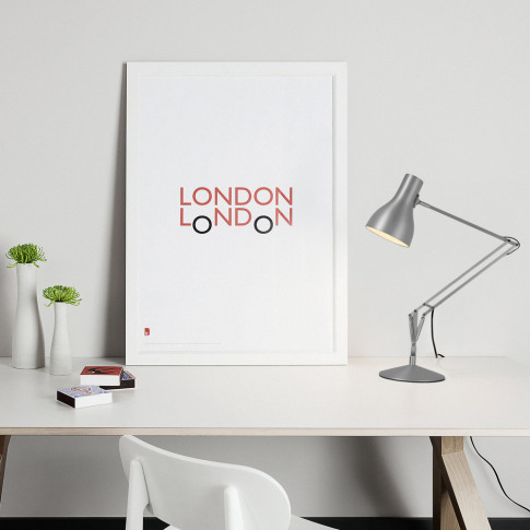 Anglepoise - Type 75 Desk Lamp - Silver Lustre