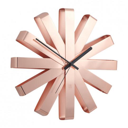 Umbra - Ribbon Wall Clock - Copper