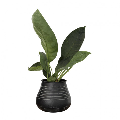 House Doctor - Stribe Vase - Black