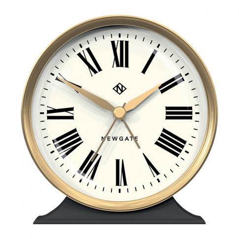 Newgate Clocks - Hotel Alarm Clock - Moonstone Grey