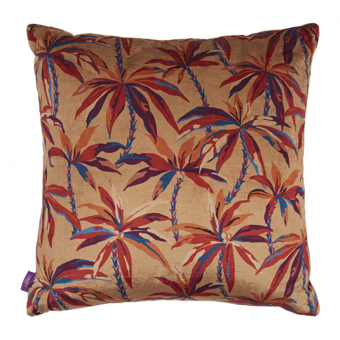 Liberty London - Oasis Velvet Cushion - 60x60cm - Pink