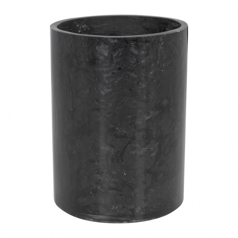 A By Amara - Marbled Resin Toothbrush Holder - Black