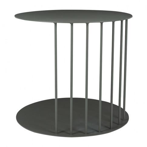 Broste Copenhagen - Tone Steel Side Table - Magnet