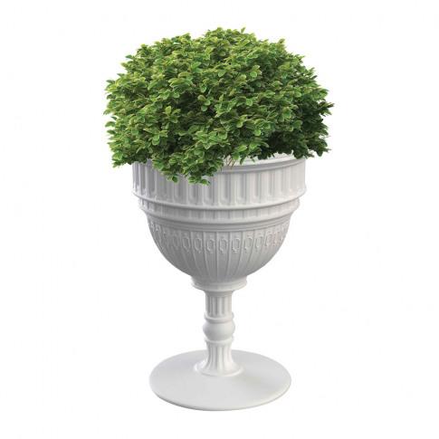 Qeeboo - Capitol Champagne Bucket/Planter - White