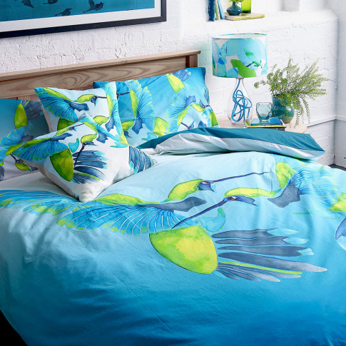Anna Jacobs - Sipping Nectar Duvet Set - King