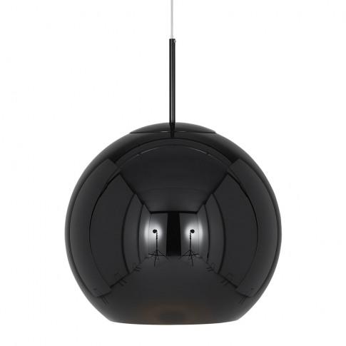 Tom Dixon - Copper Black Round Pendant Light - 45cm
