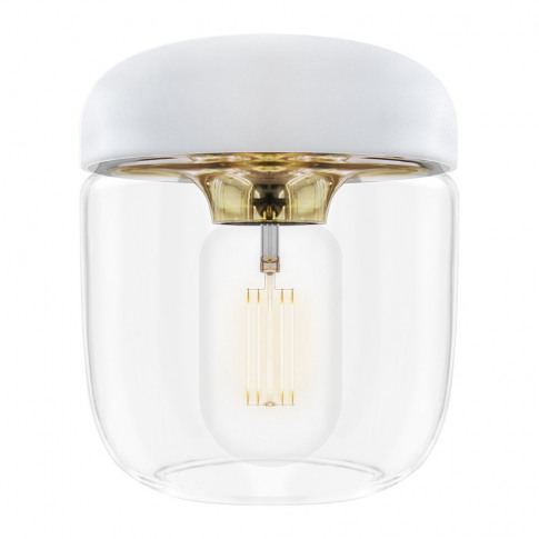 Umage - Acorn White Shade - Brass