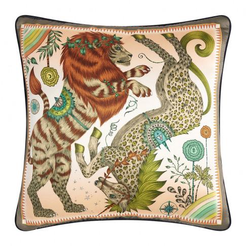 Emma J Shipley - Caspian Cushion - 45x45cm - Gold