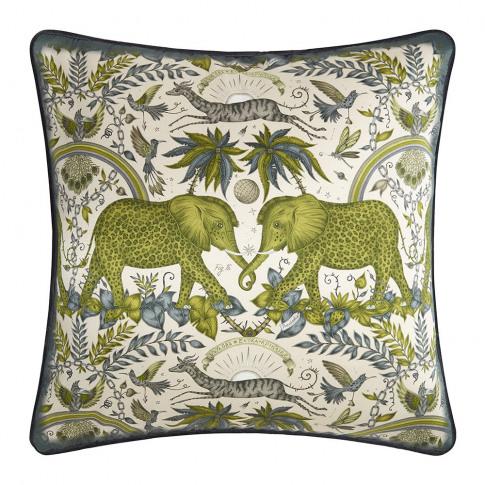 Emma J Shipley - Zambezi Cushion - 45x45cm - Gold
