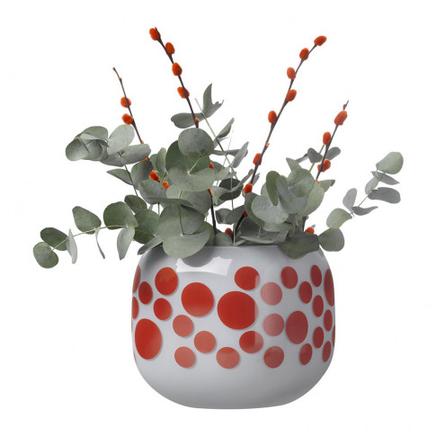 Nude - Mono Box Iris Inspiration Vase - Red