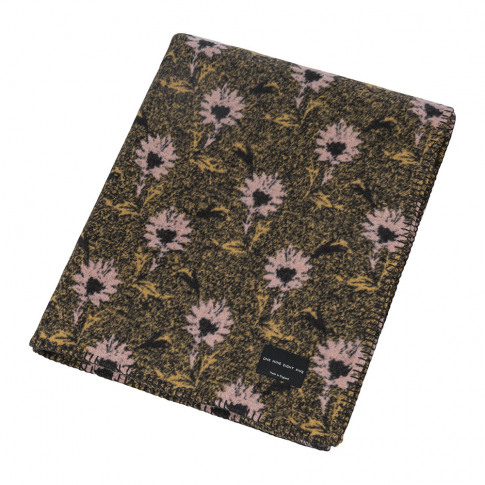 One Nine Eight Five - Flora Throw - Pink - 160x190cm