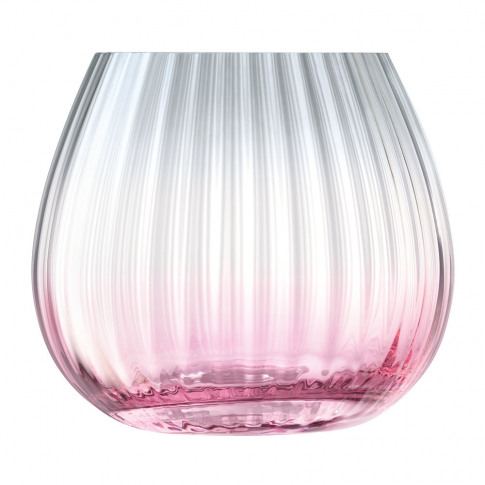 Lsa International - Dusk Lantern/Vase - Pink/Grey
