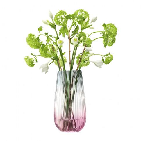 Lsa International - Dusk Vase - Pink/Grey - 28cm