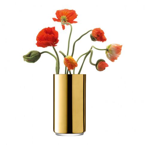 Lsa International - Karat Lantern/Vase - Gold - 26cm