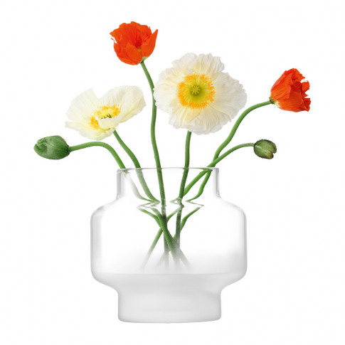 Lsa International - Mist Vase - Part Frost - 19cm