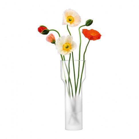 Lsa International - Mist Vase - Part Frost - 35cm