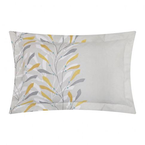 Sanderson - Sea Kelp Oxford Pillowcase - Ochre