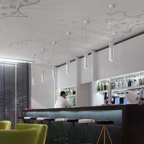 Bover - Hardy Ceiling Pendant Light - White